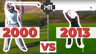 Tiger Woods 2000 Harmon Swing Vs 2013 Foley Swing
