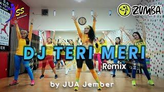 DJ TERI MERI REMIX  / Zumba / Choreo by Zin JUA_Jember