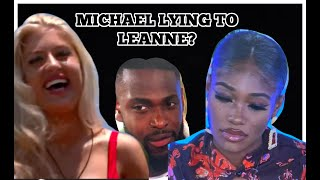 LOVE ISLAND EP2 10 MIN REVIEW : MICHAEL LYING TO LEANNE!? SIANNISE IS PLAYING MY BEST FRIEND