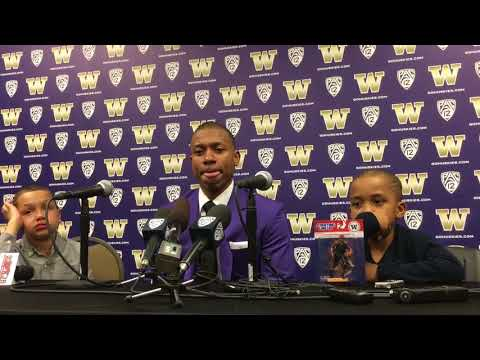 Isaiah Thomas UW Jersey Retirement Press Conference