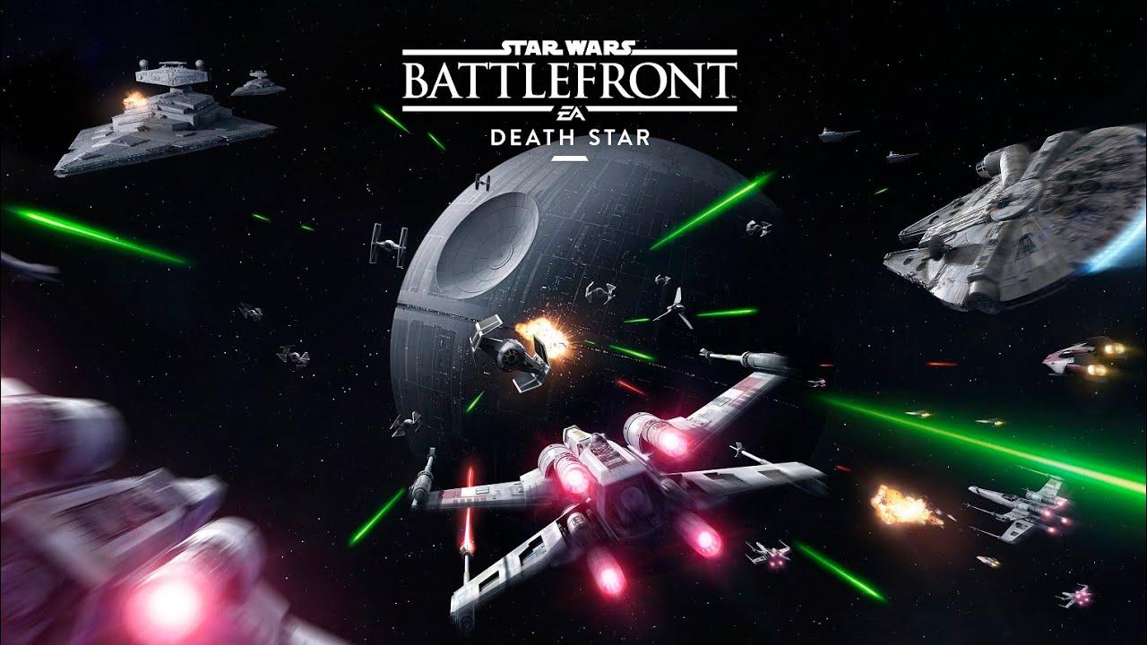 Space Battles Debut In Star Wars Battlefront Death Star