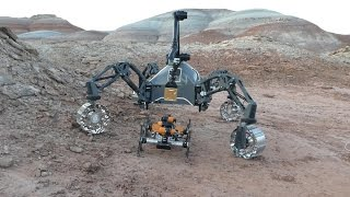Field Trials Utah: Robot team simulates Mars mission in Utah