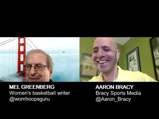 Hall of Fame women's basketball writer Mel Greenberg joins Bracy Sports Media