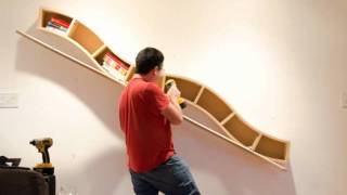 Bending Plywood Dvd Shelf
