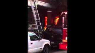 Raw Video from House Fire in North Philadelphia, Aug. 9, 2015