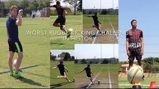 Worst Rugby Kicking Challenge in History
