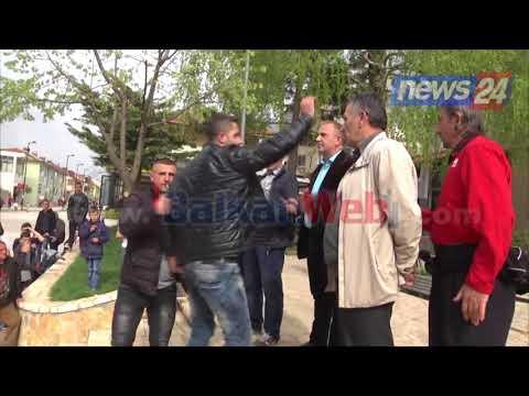 Protestojnë minatorët në Bulqizë. Dy të rinj i kërkojnë llogari Kol Nikollajt, ndërhyn policia