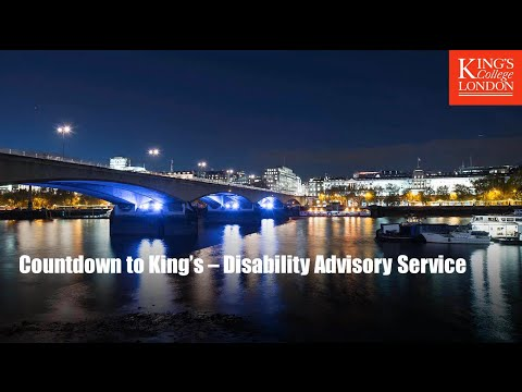 Disability Advisory Service's Countdown to King's