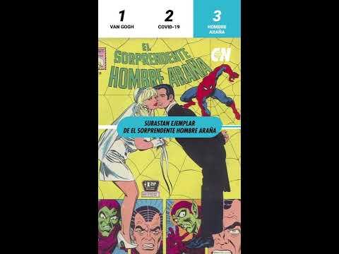 Se vende cómic mexicano de Spider-Man en miles de pesos/ Código News