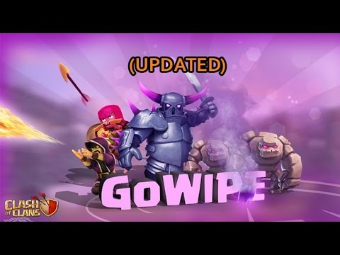 Th8 Gowipe Attack Strategy 2018 | Triple Threat event Clash Of Clans | Updated Gowipe Attack 2018