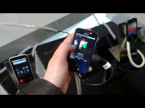 Недорогие Android-смартфоны Acer beTouch E110 и beTouch E400