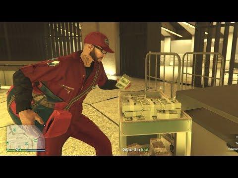 GTA 5 Online - The Diamond Casino Final Heist FIANALE Completion - The Big Con Way($2million)