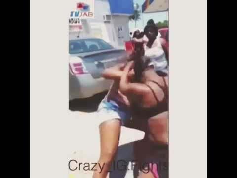 Black girl fights caught on tape