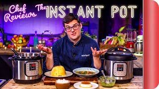 A Chef Reviews the Instant Pot (7-in-1 Pressure Cooker) | SORTEDfood