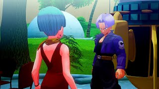 Dragon Ball Z: Kakarot - Trunks Returns from the Future Meets Ranger Android 17 & Trains with Vegeta