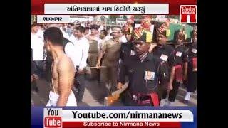 Bhavnagar ના શહિદ દિલીપસિંહ ડોડીયાને આર્મીના નિયમોં મુજબ અપાઈ શ્રદ્ધાંજલી | NirmanaNews