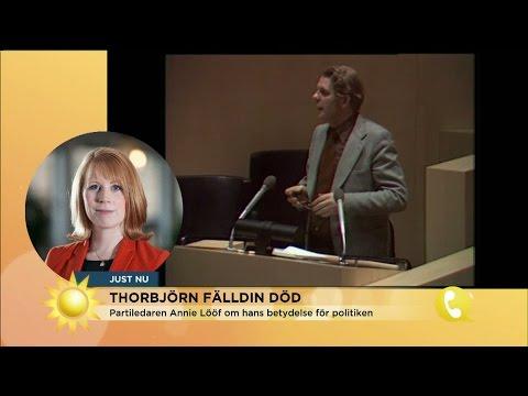 """Thorbjörn Fälldin död: """"Han har betytt oändligt mycket"""" - Nyhetsmorgon (TV4)"""