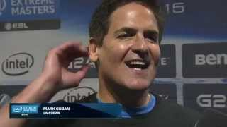 Mark Cuban vs Brian Krzanich with some mad trash talk! celebrity ARAM match | IEM San Jose 2015