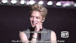 [Eng Sub] 140911 iQIYI 爱奇艺 interview - JYJ
