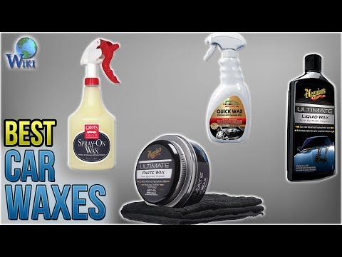 10 Best Car Waxes 2018