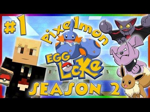 Pixelmon 4.0.7 Egglocke - S2 Ep1 (Pixelmon 4.0.7 Island Egglocke Multiplayer)