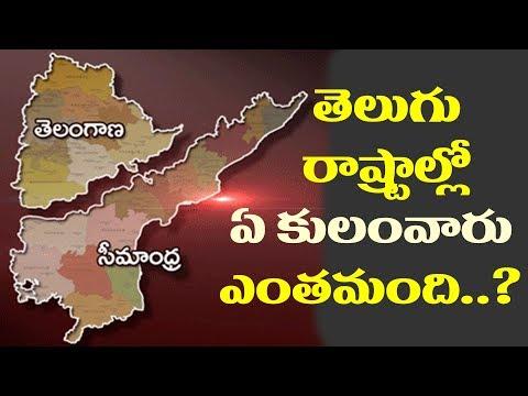 తెలుగు రాష్ట్రాల్లో కులాల లెక్కలు తెలియాలంటే ఈ వీడియో చూడండి| Caste Wise Population in Telugu States