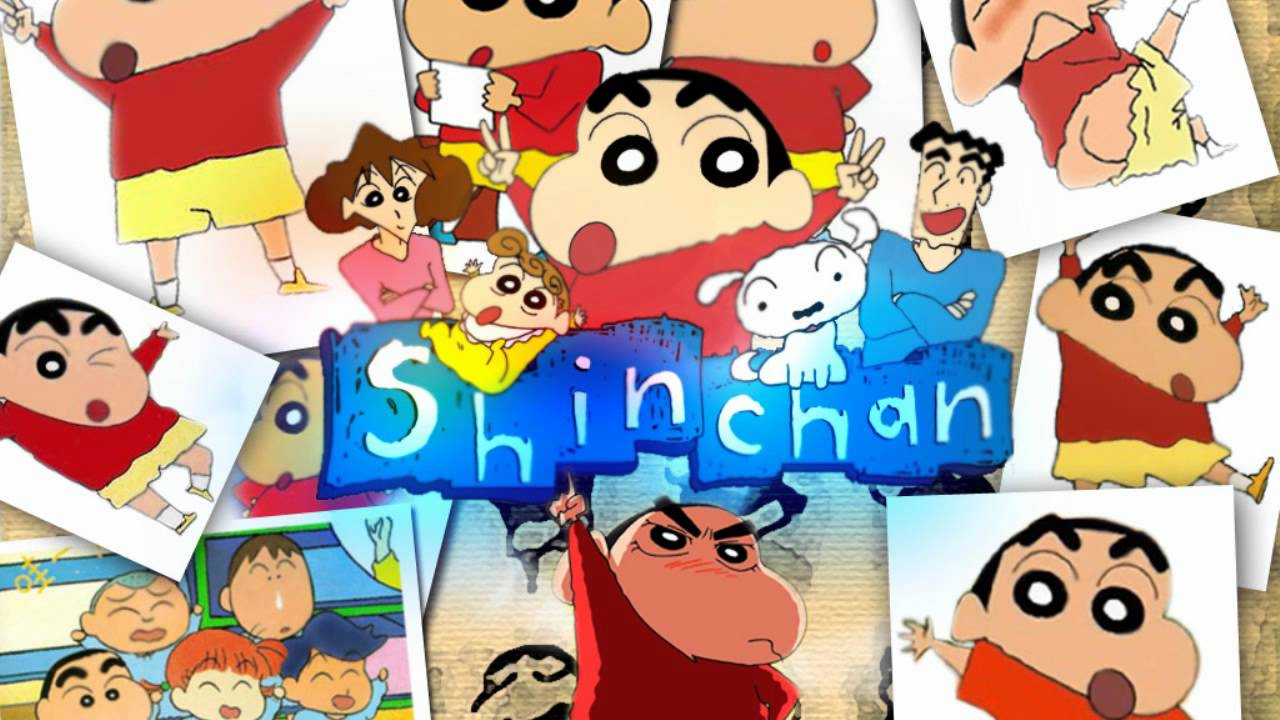 Shin Chan Zwembad Shin Chan Theme Song Intro Dutch Hq With Lyrics