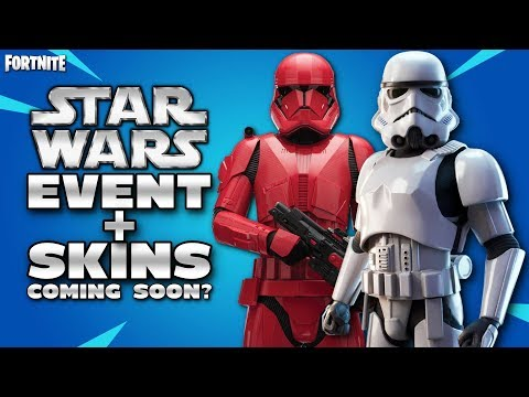 FORTNITE X STAR WARS EVENT AND SKINS - COMING SOON - I'M BACK