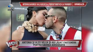 WOWBIZ (17.01.2018) - Antonia si Alex Velea - povestea de iubire! Partea II