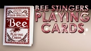 Deck Review - Bee Stingers Red Playing cards Club Special