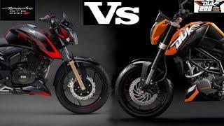 Apache 200 vs Duke 200 comparison in Hindi