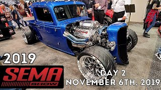 Download SEMA show 2019 Highlights - Amazing cars and trucks - Las Vegas Day 2 Mp3 and Videos
