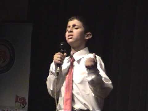 23 Nisan Egemenlik Ortaokulu Kutlu Doğum Programı Musa ARSLAN Mekke Marsi