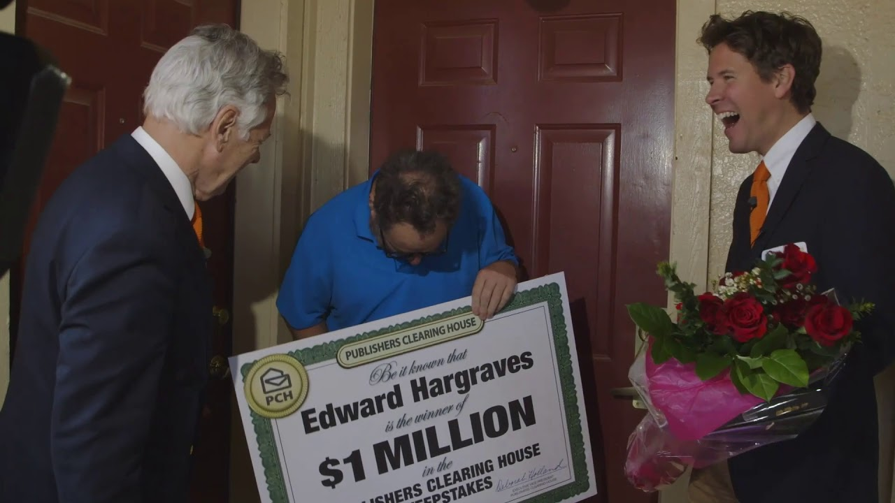Publishers Clearing House Winners: Edward Hargraves From Oklahoma City,  Oklahoma Wins $1 million