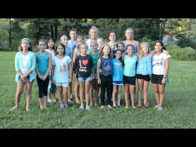 Camp Hilltop 2017 G6 Flag Pole Song
