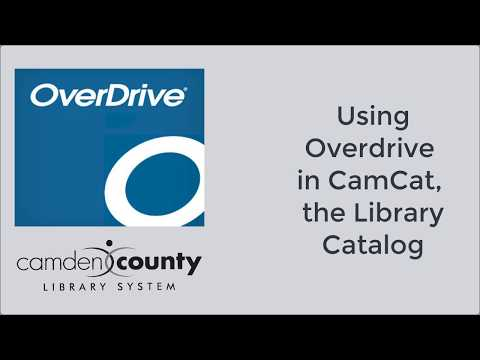 New in Overdrive eBooks and Audiobooks | Camden County