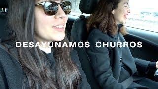 DESAYUNAMOS CHURROS · CON LUCÍA   Adriana Ruz VLOG