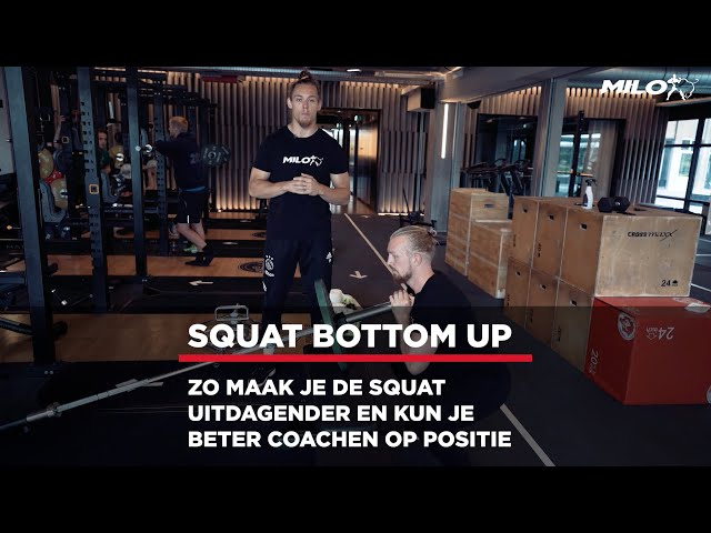 Daag jezelf uit met de Squat Bottom Up