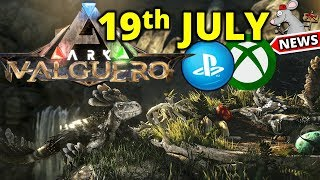 ARK VALGUERO MAP - PS4 XBOX RELEASE DATE IS 19TH JULY