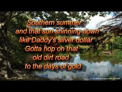 Jake Owens Days of gold lyrics