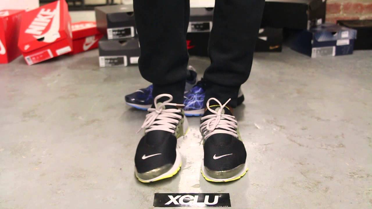 Nike Air Presto White On Feet