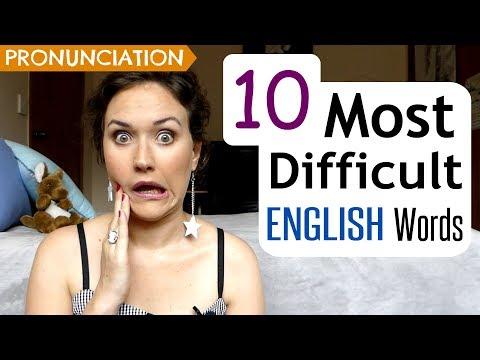 10 Most Difficult English Words to Pronounce | UK & US Pronunciation Lesson