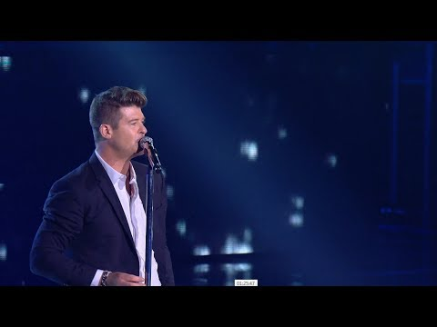 Robin Thicke  Lost Without You   from NET 40 presents Indonesian Choice Awards 2017