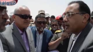 بالفيديو : وزير الاسكان ورئيس الهيئة الهندسية يتفقدان
