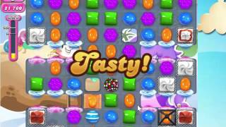 Candy Crush Saga Level 1633 with 3 stars, NO BOOSTERS!