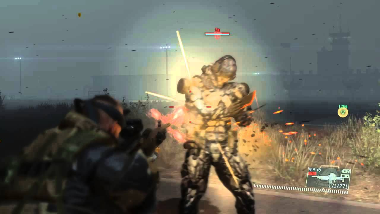 MGSV Mission 42 Metalic Archaea Skulls defeated in under 2