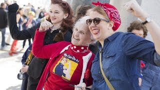 Rosie the Riveter Gets Her Due in Washington