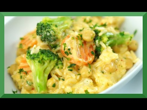 10-Minuten-Gericht I Kichererbsen-Kokos-Reis