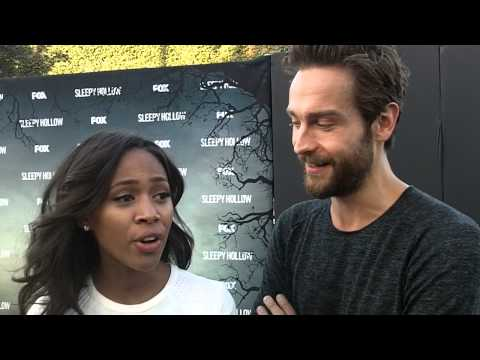 """Sleepy Hollow"" - Nicole Beharie and Tom Mison"