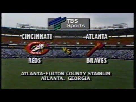 1988 MLB: Reds at Braves 7/28/1988